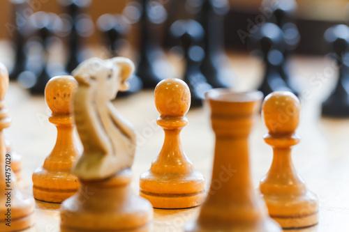 Fotografiet Chess school