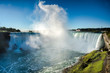 Misty plume at Niagara Falls, Canada