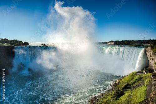 Misty plume at Niagara Falls, Canada - 144766046