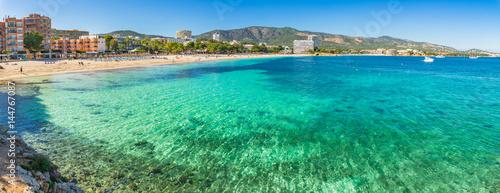Spain Majorca beach Platja de Palmanova seaside Balearic Islands Mediterranean Sea