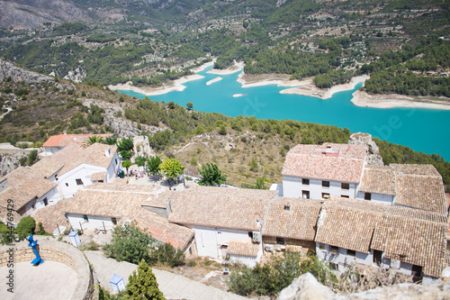 El Castell de Guadalest or briefly Guadalest is a Valencian town and municipalit Plakat