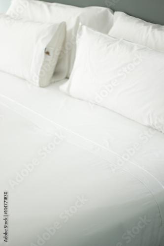 Luxury hotel bedroom sheets