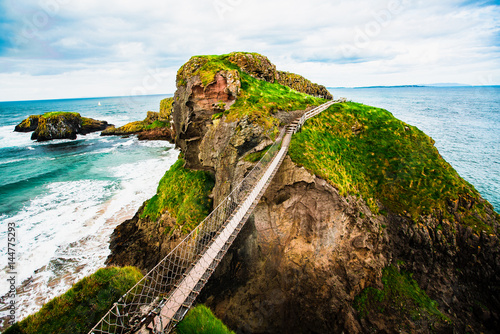 Carrick-a-Rede Rope Bridge Poster