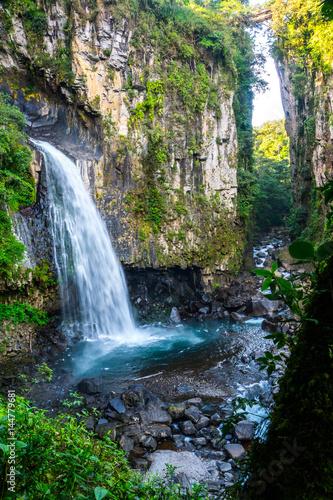 Xico national park in Veracruz Mexico Waterfall - 144779681
