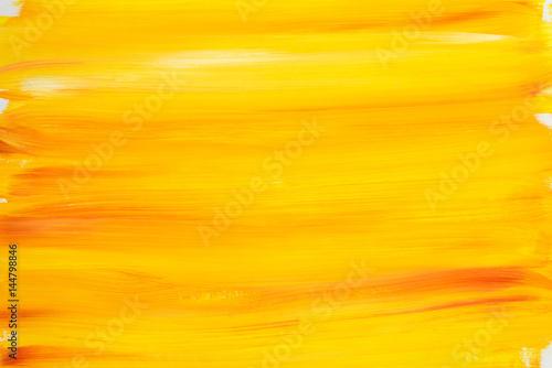 Fototapeta orange painted background texture