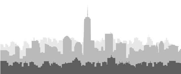 Morning New York Skyline © samkar