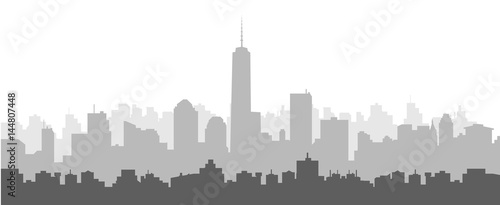 Rano New York Skyline