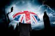 angleterre grande bretagne royaume uni londres parapluie drapeau pluie sombre parlement attaque attentat triste