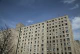 Haus aus DDR Zeiten am Alexanderplatz in Berlin