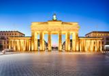 Brandenburg gate of Berlin, German