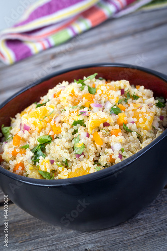 quinoa orange and cilantro salad