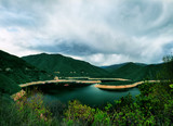 Dam Vacha in Rhodopi mountain, Bulgaria - 144858482