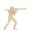 Miniature Toy Soldier   Wall Sticker