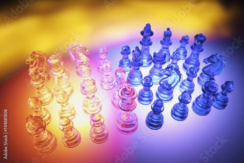 Fotografiet Chess Pieces