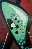 Risse im Lack durch graffiti