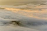 Poranne mgły w Pieninach,małopolska,Polska