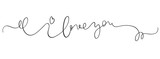 I love you vector vintage text on white background. Calligraphy lettering illustration EPS10