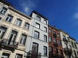 Brüssel: Schöne Altbaufassaden, Jahrhundertwende