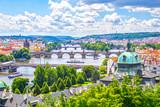 Bridges of Prague and the River Vltava Czech Republic