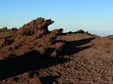 top of the mountian lava rock