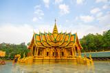 Buddhist temple in Northern Thailand