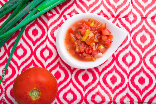 Poster Ensalada de tomate