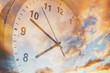 Time passing in sky
