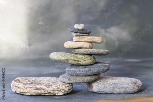 Zen Stone Poster