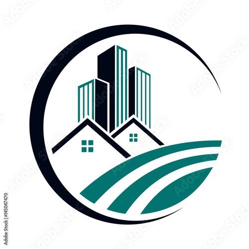 Modern Real Estate Logo - 145047470