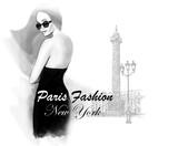 Young woman fashion model in Paris - 145055290