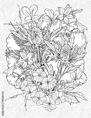 flowers of burdock