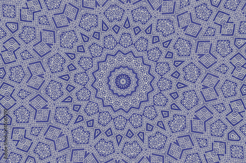 Poster abstract fabric texture kaleidoscope background