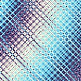 Digital art abstract pattern. Abstract blue and pink plaid fractal image