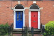 Georgian doors in Dublin, Ireland - 145071280