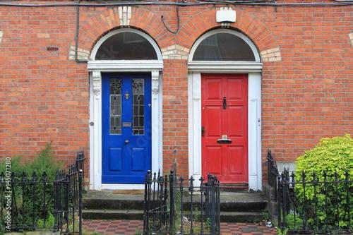 Georgian doors in Dublin, Ireland Poster