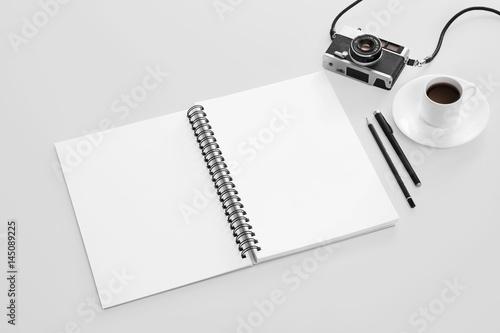 Sketch book mockup - 145089225
