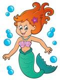 Mermaid Topic Image 1 Wall Sticker