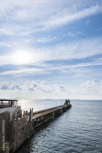 Salt company pier