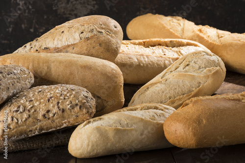 Plagát Group of breads