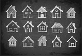 Sketch of houses on ...