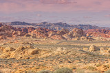 Scenic Valley of Fire Landscape