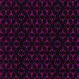 Abstract Seamless Line Background in Purple Color