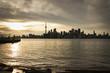 Downtown Toronto Skyline Sunset