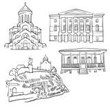 Tbilisi Georgia Famous Buildings