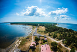 Hiiumaa island from Tahkuna lighthouse