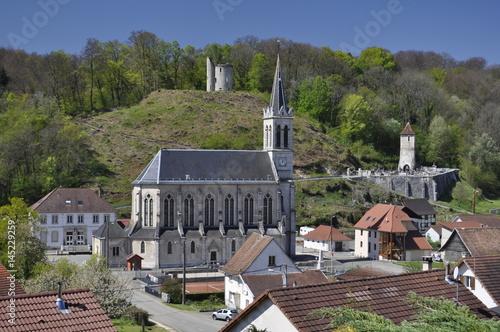 Plagát Église de Florimont