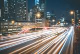 Night Traffic - New York