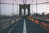 Traffic on Brooklyn Bridge - New York - 145246055