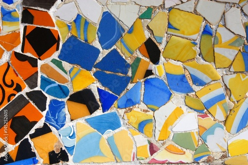 Deurstickers Barcelona Barcelona art