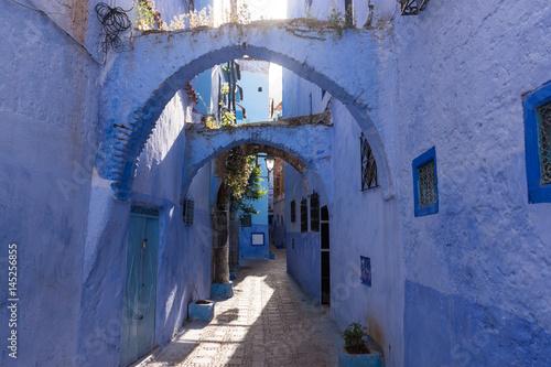 Ruelle de la médina de Chefchaouen, Maroc